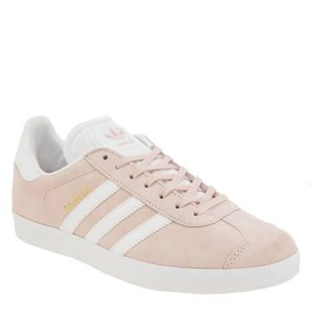womens adidas pale pink superstar trainers