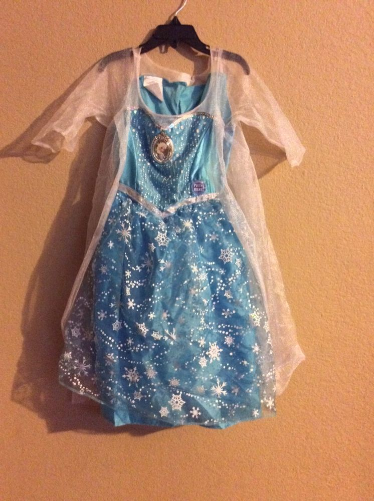 Girls Fancy Dress Up Frozen Elsa Anna Aurora Sleeping Beauty Costume Outfits Lot