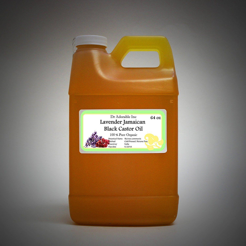 Lavender jamaican black castor oil natural pure organic strengthen