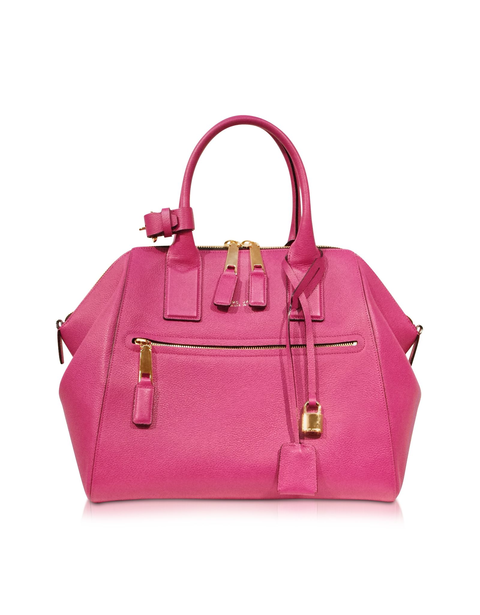 48a5467c4db Marc Jacobs Textured Large Raspberry Incognito Satchel at FORZIERI Marc  Jacobs Tote, Calf Leather,