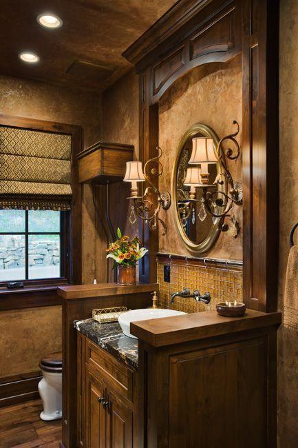 Tuscan Style Bathrooms | Tuscan Bathroom Design Ideas