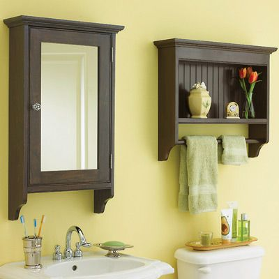 1000 Images About Wall Mounted Bathroom Cabinets On Pinterest ...