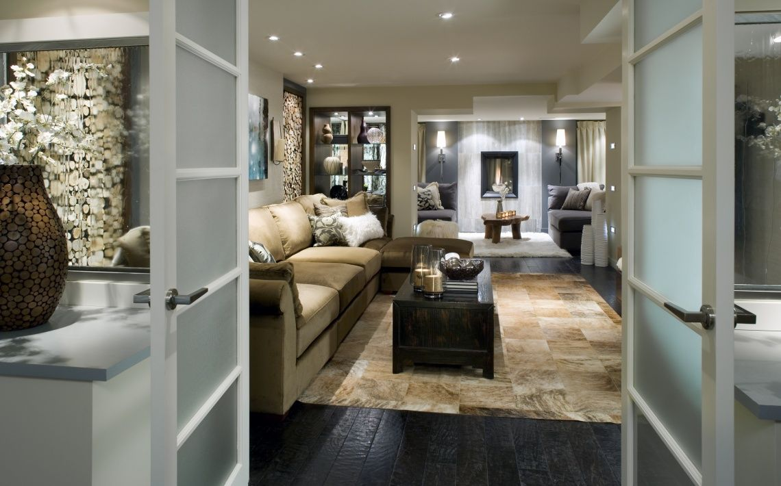 17 pictures of beautiful basement renovations by candice