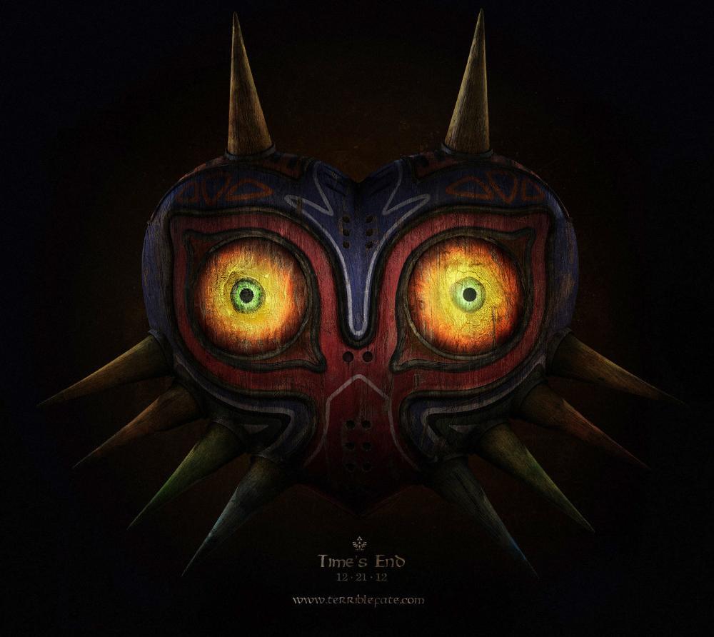 Artstation Majora S Mask 2012 Cordell Felix Majoras Mask Legend Of Zelda Majoras
