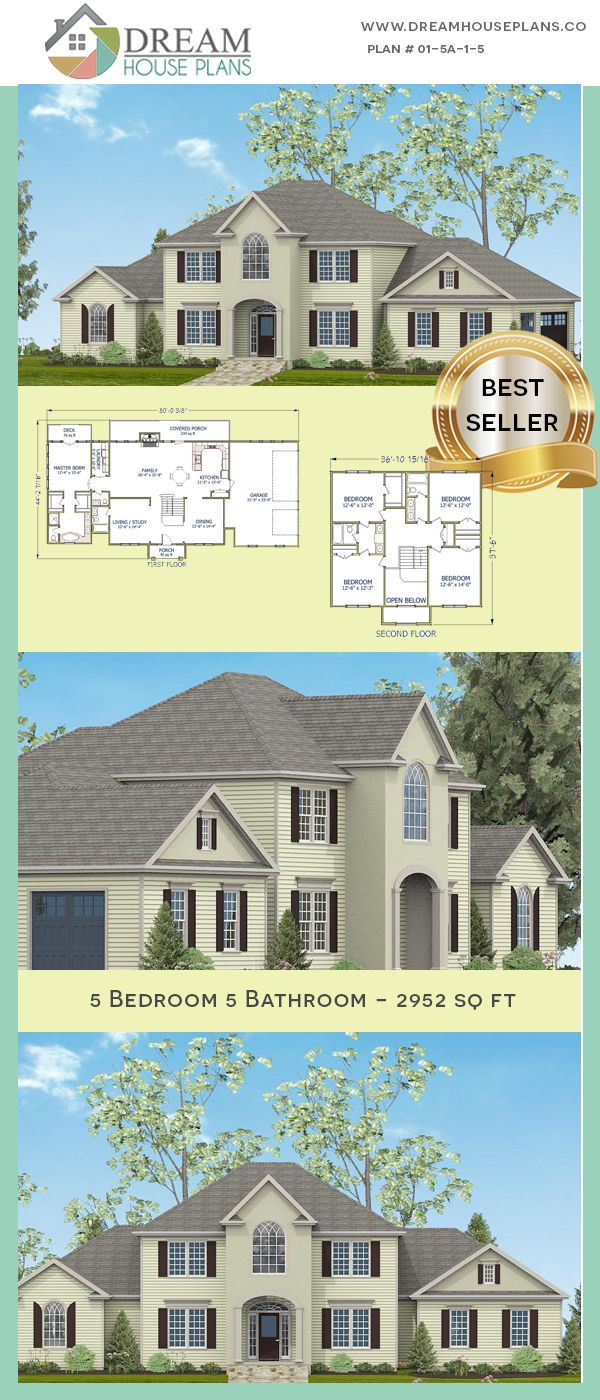 Dream House Plans Popular Southern Bedroom Sq Ft house