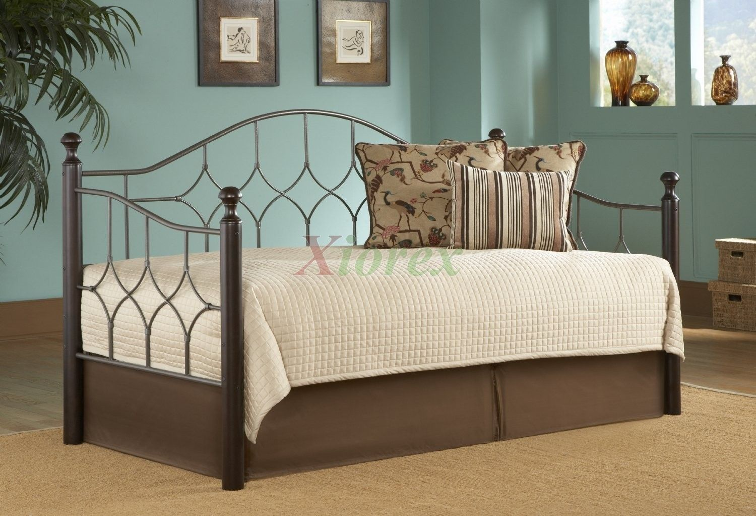 Daybed with trundle full size awesome queen size daybed trundle with pillow  daybeds  pinterest