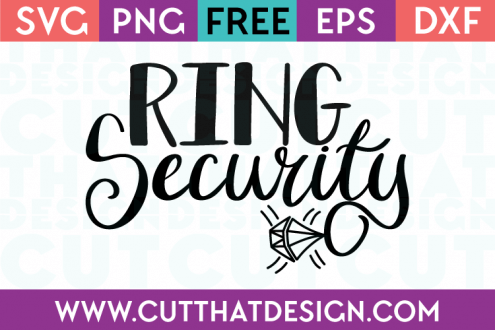 Download Free SVG Files | Ring security, Cricut wedding, Svg file