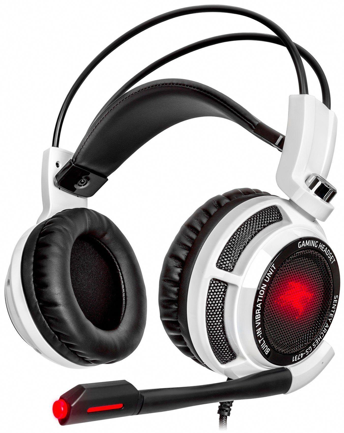 Amazon com: Sentey® Gaming Headset Virtual 7 1 USB DAC