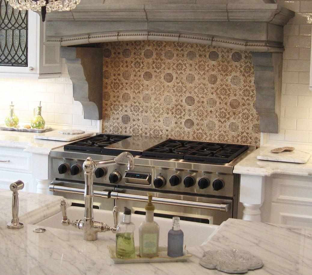 Hood and backsplash handmade tiles can be colour coordinated and hood and backsplash handmade tiles can be colour coordinated and customized re shape dailygadgetfo Image collections