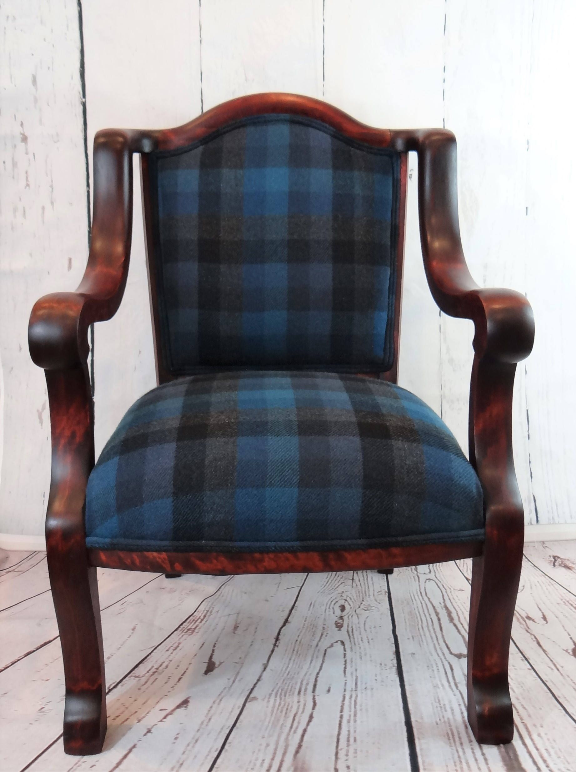 buffalo checkered accent chair cover