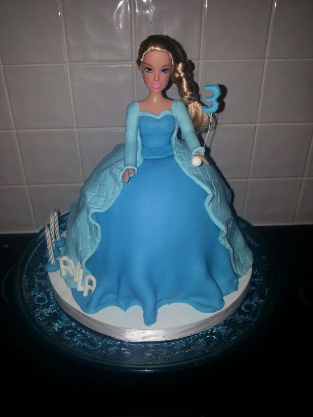 Ayla 3rd birthday cake