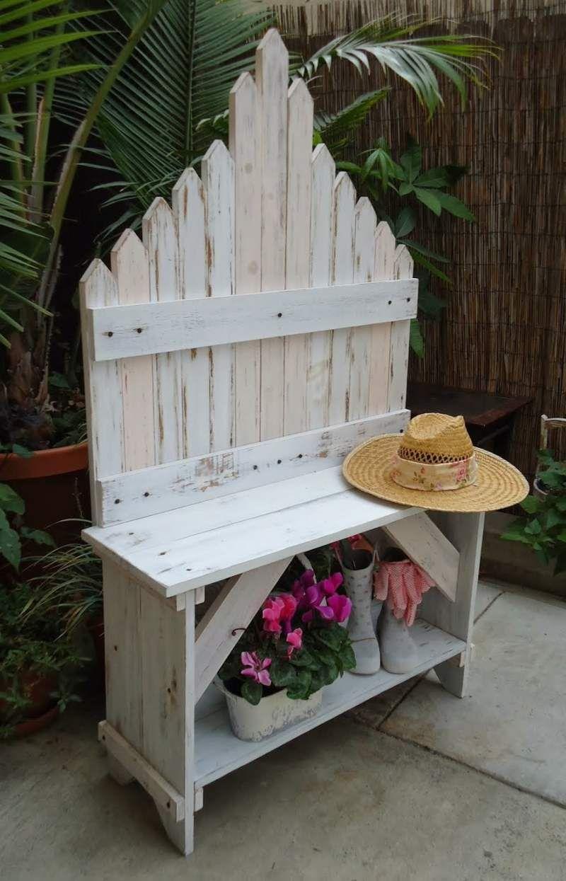 Kleiner Garten   Gestaltung und Ideen im Shabby Look   Shabby chic ...
