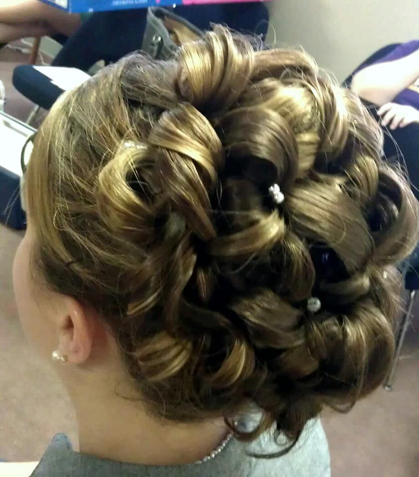 polished updo. For more info on formal styles check out our website www.salonrouge.com | Long ...