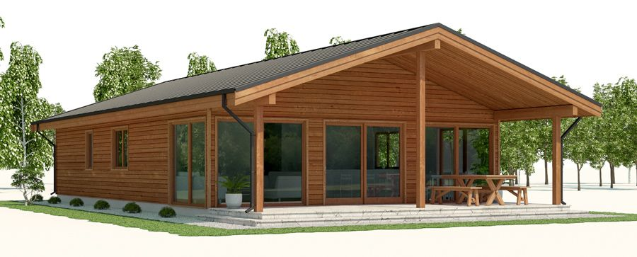 Affordable Home Plan Three Bedrooms Simple And Builder Friendly