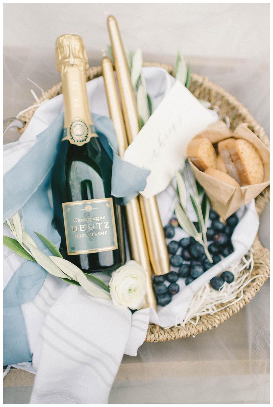 Wedding Welcome Basket By Marigold Grey Image Elizabeth Fogarty