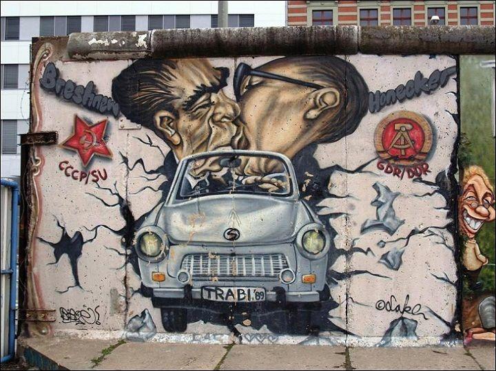 Beau East Side Gallery, Beautiful Art On The Berlin Wall