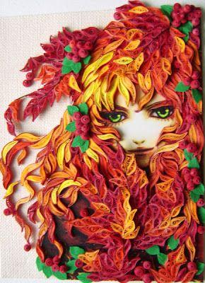 Kniedaz: Quilling Art - Cantiknya