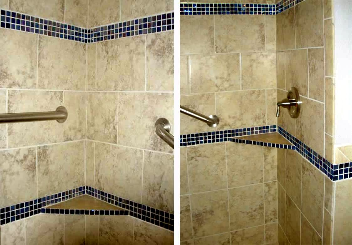 tile colors for bathrooms bathroom combine black ground green wall ...