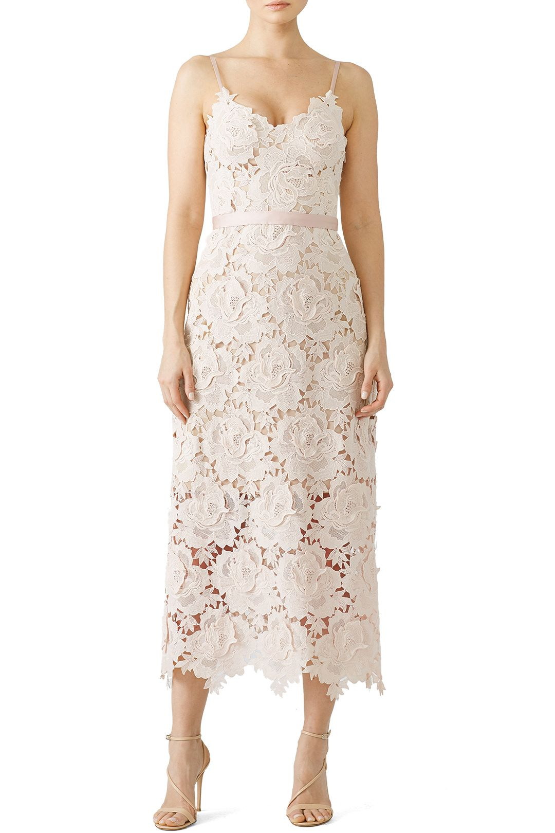 e812eb5df7d3 Rent Rose Lace Frida Dress by CATHERINE DEANE for  130 -  140 only at Rent  the Runway.