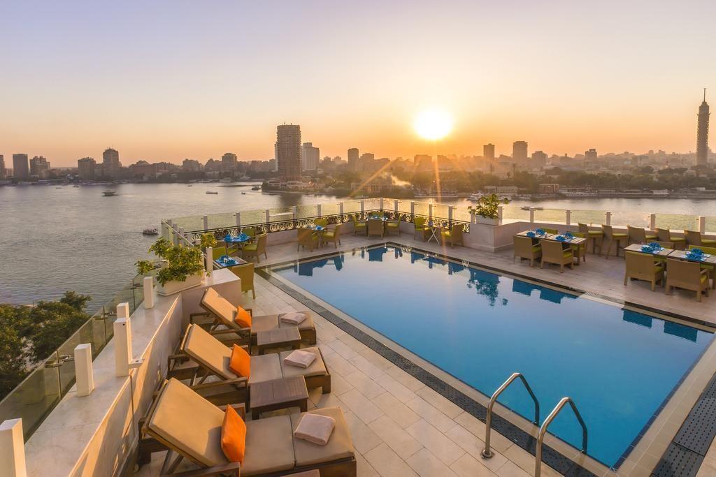 Located In Cairo S Affluent Garden City District Kempinski Hotel