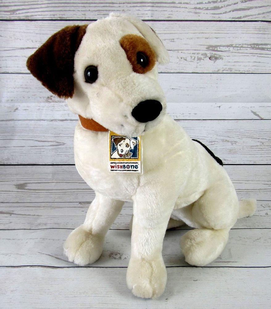 Wishbone Talking Puppy Dog Stuffed Animal With Tags Plush Toy 13