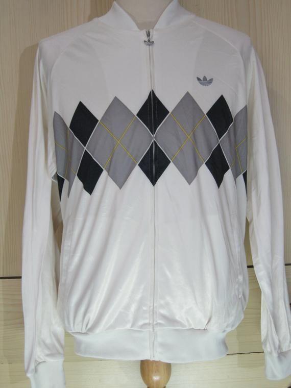 Vintage Adidas Ivan Lendl Retro Tennis 80s polo Tracksuit