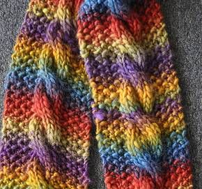 Lots Of Links To Free Cabled Scarves Knitting Patterns Great For