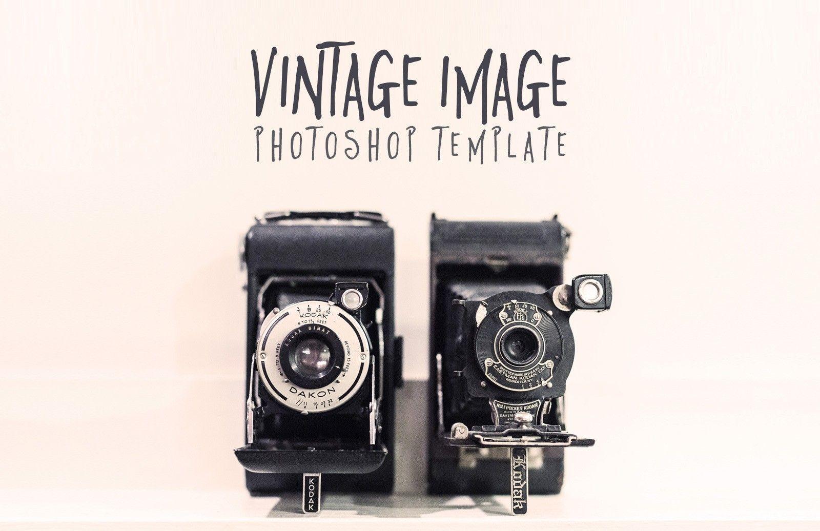 Vintage Image Photoshop Template Vintage Images Retro Vintage Unique Vintage