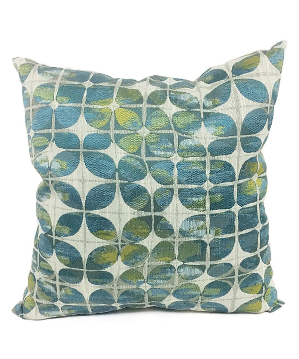 This Teal Butterfly Kisses Throw Pillow By Brentwood Originals Is