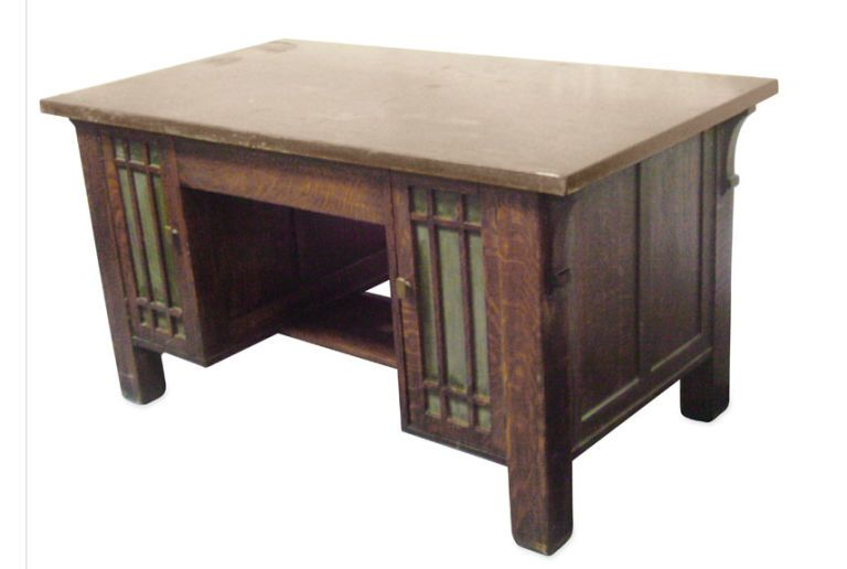 You Won T Believe What These 97 Amazing Antique Finds Are Worth Craftsman Desks Craftsman Furniture Mission Furniture