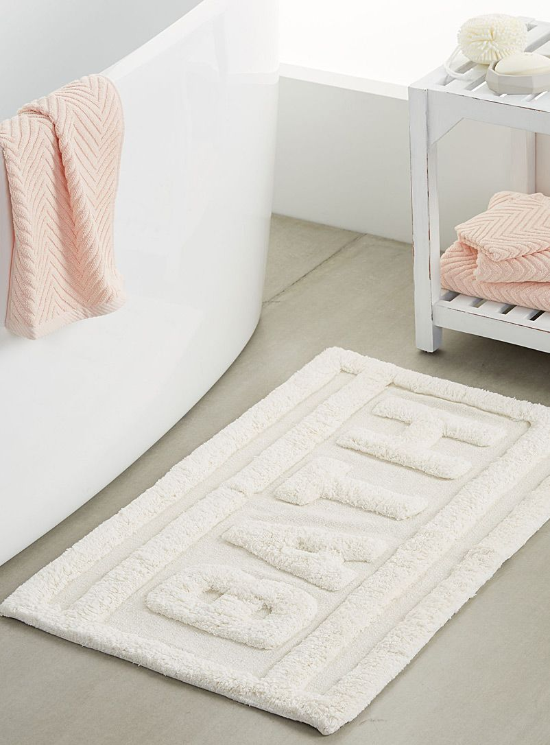 Solid Colour Bath Rugs Mats Online In Canada