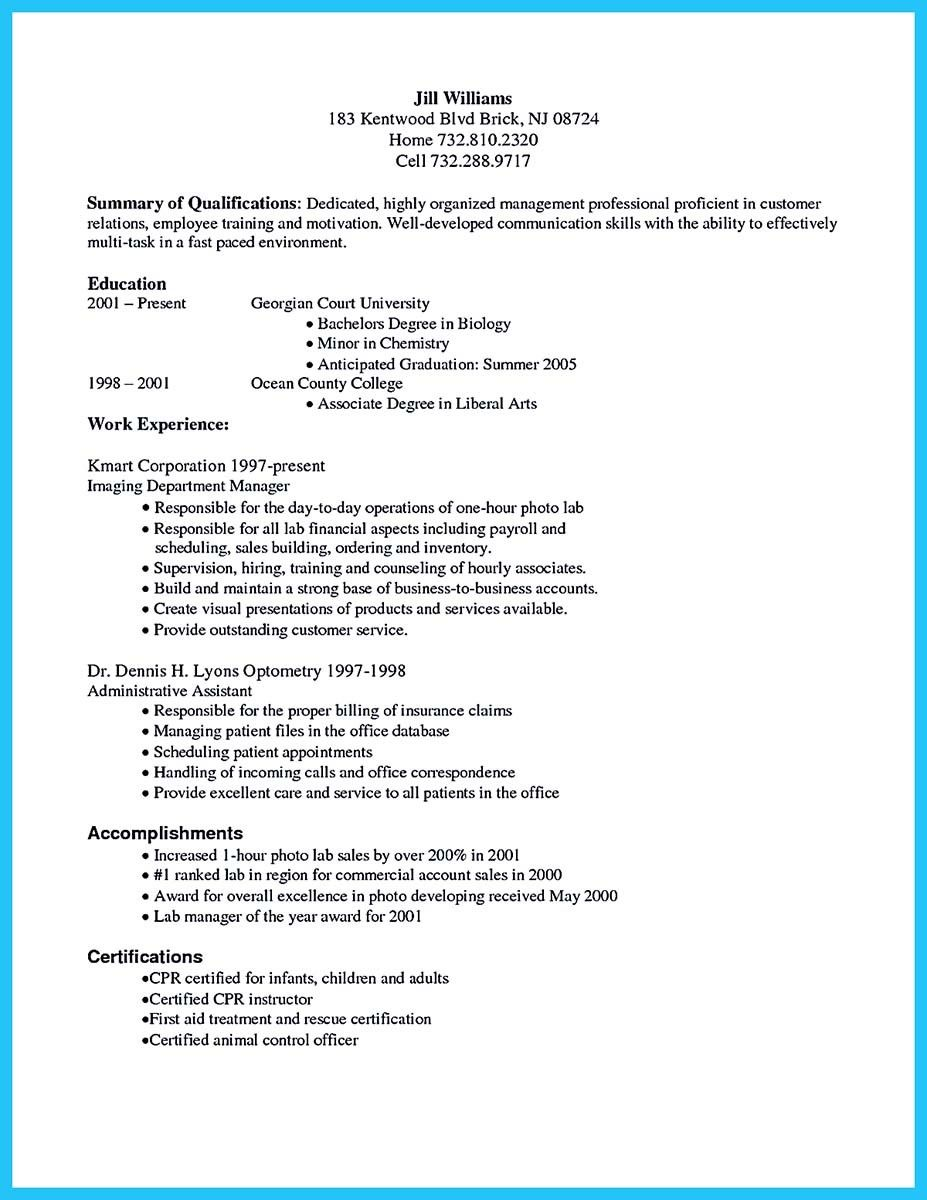 Awesome Exciting Billing Specialist Resume That Brings The Job To You Check More At