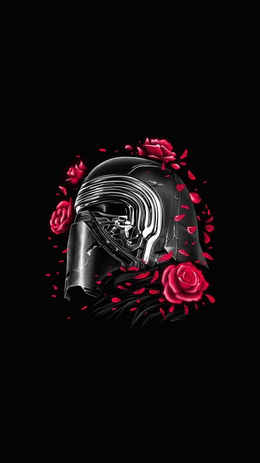 Kylo Ren Iphone Wallpaper In 2020 Star Wars Background Star Wars Wallpaper Iphone Star Wars Poster