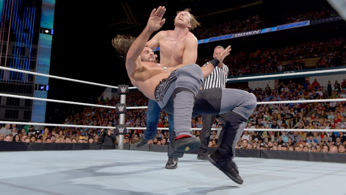 Dean Ambrose vs. Seth Rollins – WWE Championship Match: photos