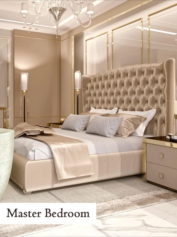 Photo of Splendor villa bedroom design for a dream house