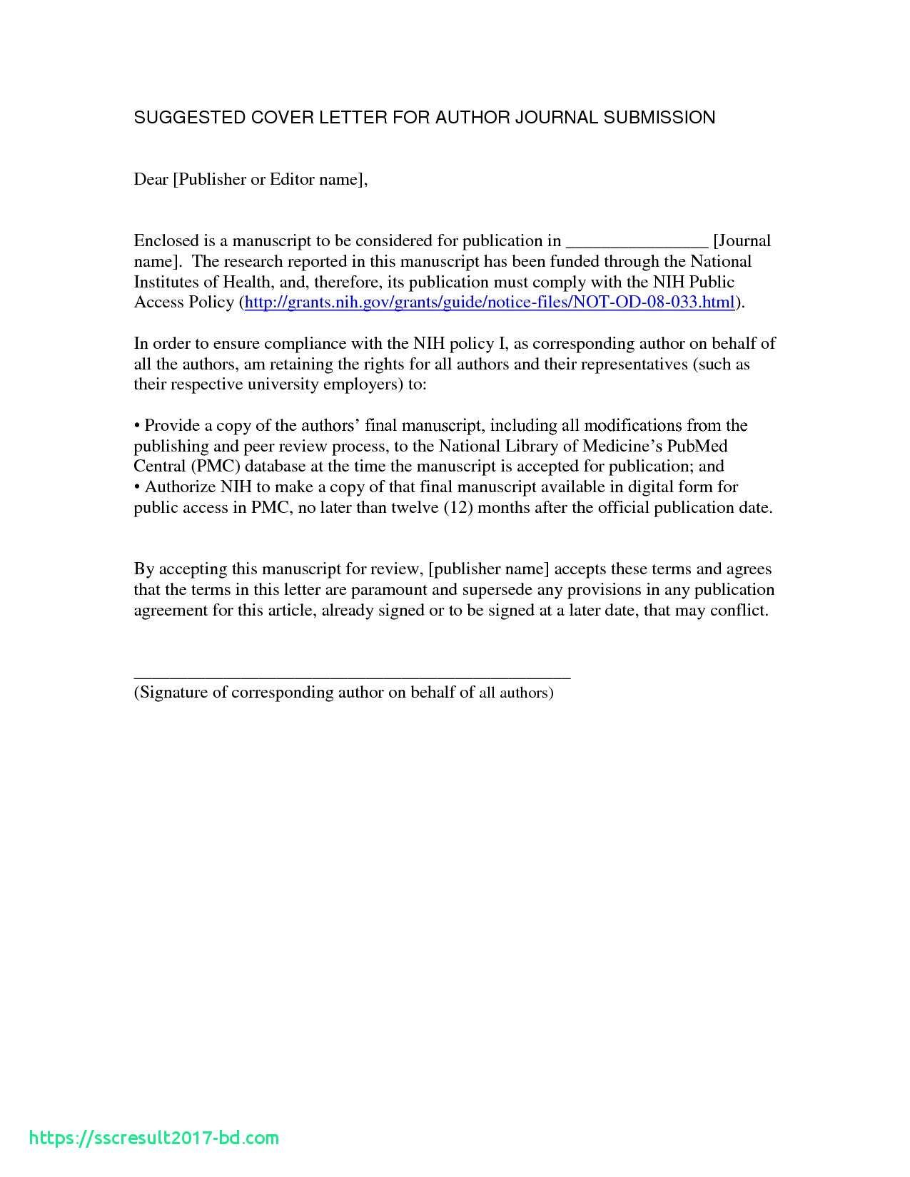Cover letter to editor of journal cover letter to editor