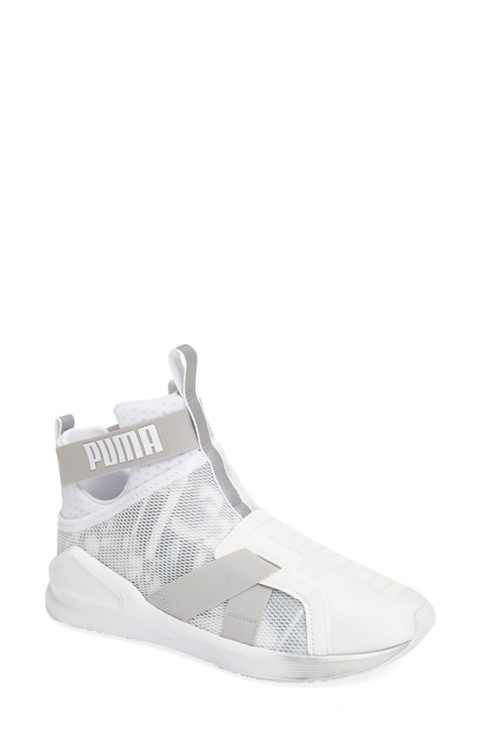 PUMA Fierce Strap Swan Training Sneaker (Women)