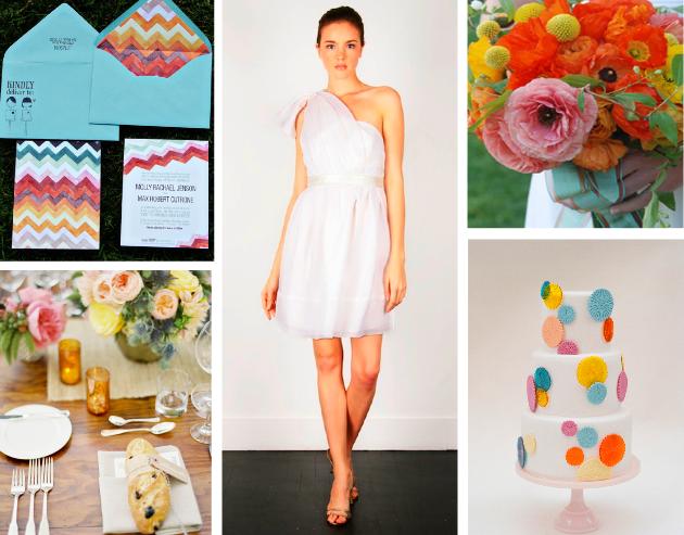 beautiful clor palette! delight by design: event inspiration {playful + fresh}