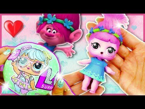 POPPY TROLLS LOL Surprise Custom Doll Tutorial | Lil Outrageous Littles - YouTube - Lil's board -