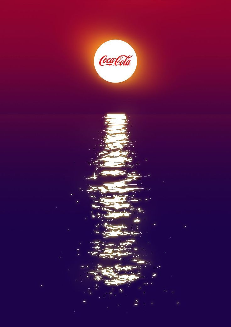 Coca-Cola — Summer Poster #advertisement