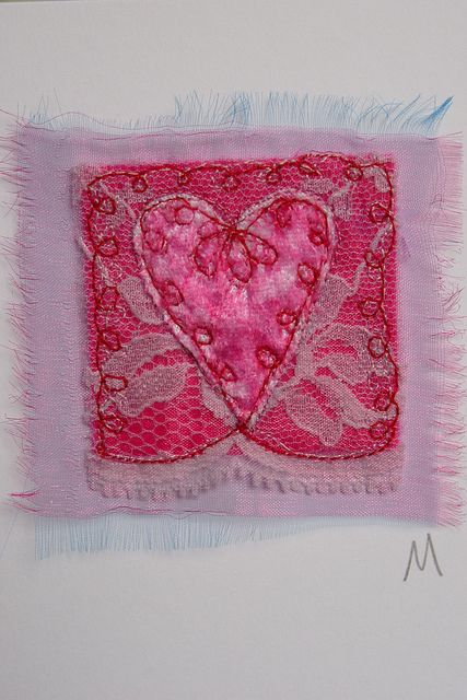 pink heart by ominnimo, via Flickr