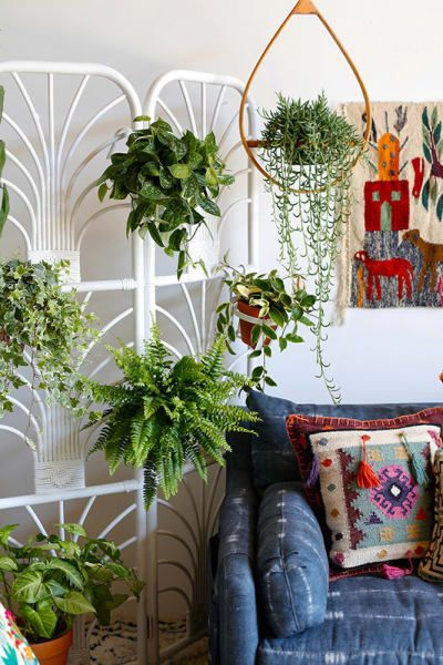 Indoor Plant Ideas  Vertical Garden, Hanging Displays is part of Vertical garden Living Room - Plants have the unique power to totally transform your space for the better  Check out some clever and creative ways to store, hang and show off your precious plants in your home
