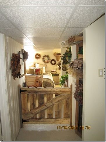 Decorative wood and floral crafts
