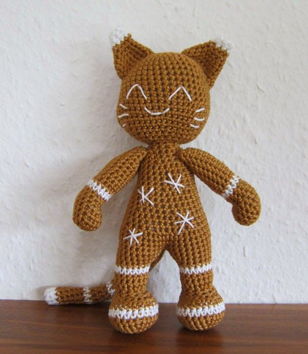 Stephi´s Köstlichkeiten: Ginger - The Gingerbread Cat