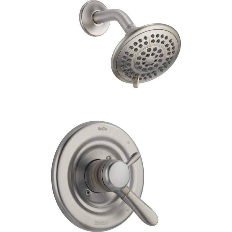 Delta Lahara Stainless 1-Handle Shower Faucet T17238-Ss | Shower ...