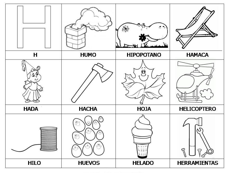 Vocabulario Con Imagenes Para Ninos Pre K Worksheets Learning Spanish Bilingual Classroom