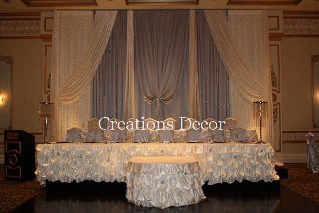 Wedding Head Table Ideas in Vaughan Amady head table