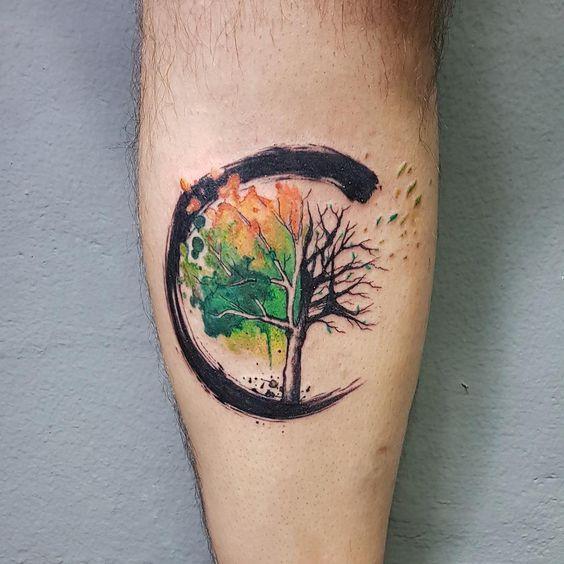 Tatuajes De Arboles Y Bosques 256 Fotos Hombre Mujer Tatuaje De Arbol Para Hombres Tatuaje Arbol De La Vida Tatuaje De Arbol En Acuarela