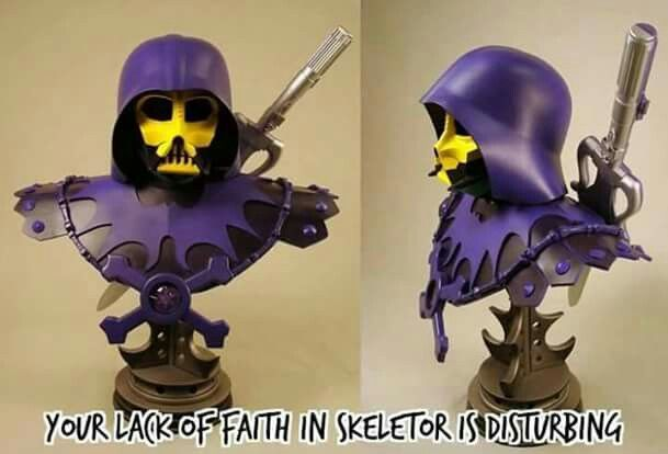 Pin by Annie Haddlesey on Skeletor | Skeletor, Mashup