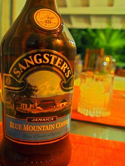 sangster's blue mt coffee rum cream  rum cream blue